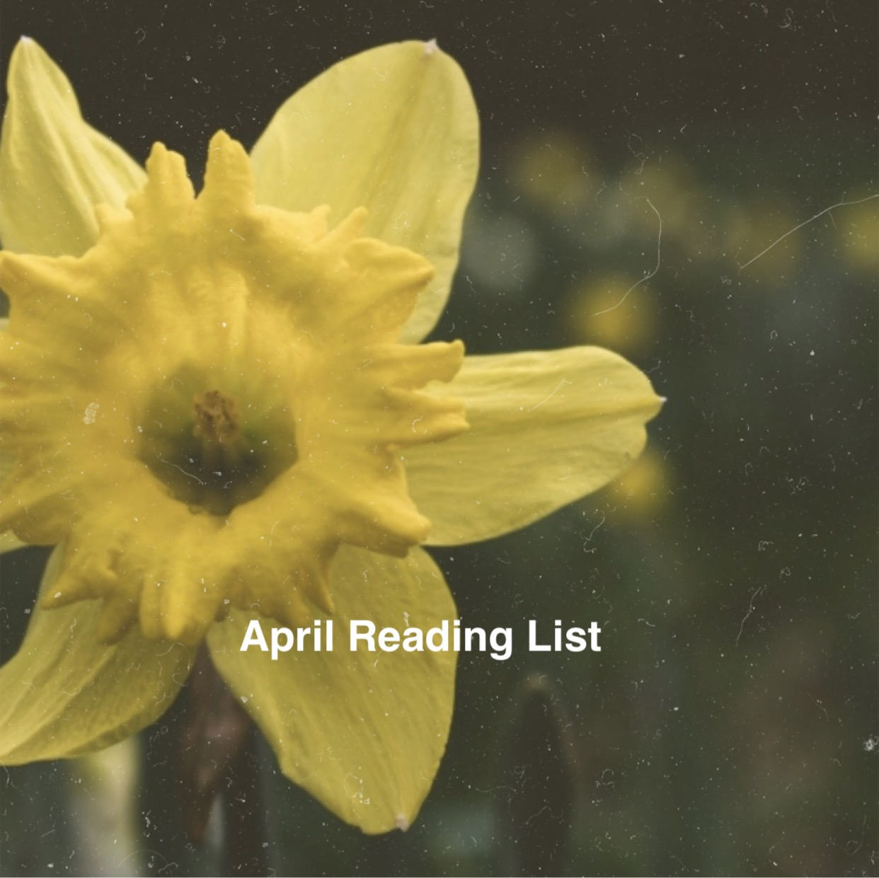 April Reading List